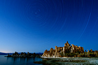 135 Minute Startrail of Mono Lake