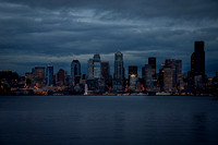 Downtown Seattle After Sunset