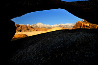 Small Alabama Hills Arch