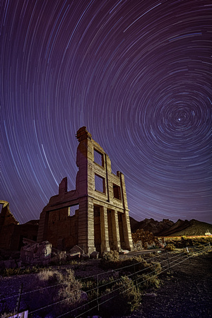 Rhyolite Stars in Color